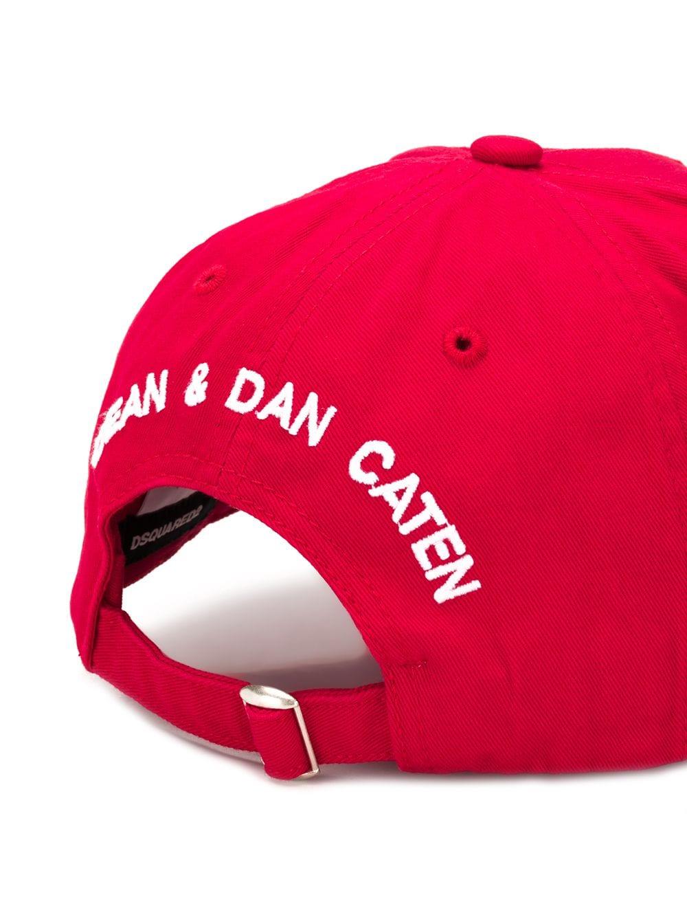 1001b2df86f5a Logo Baseball Cap - DSQUARED2 - Russocapri