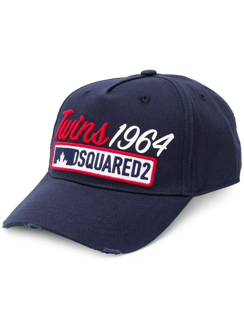 fa8fd086ea821 Twins 1964 Dsquared2 Baseball Cap - DSQUARED2 - Russocapri