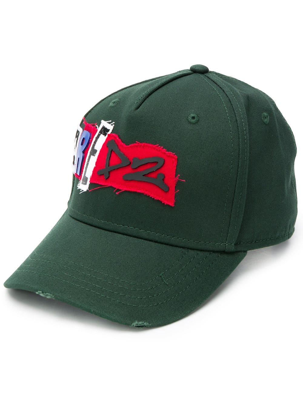 ebab6de330ca6 Dsquared2 Baseball Cap With Applications - DSQUARED2 - Russocapri