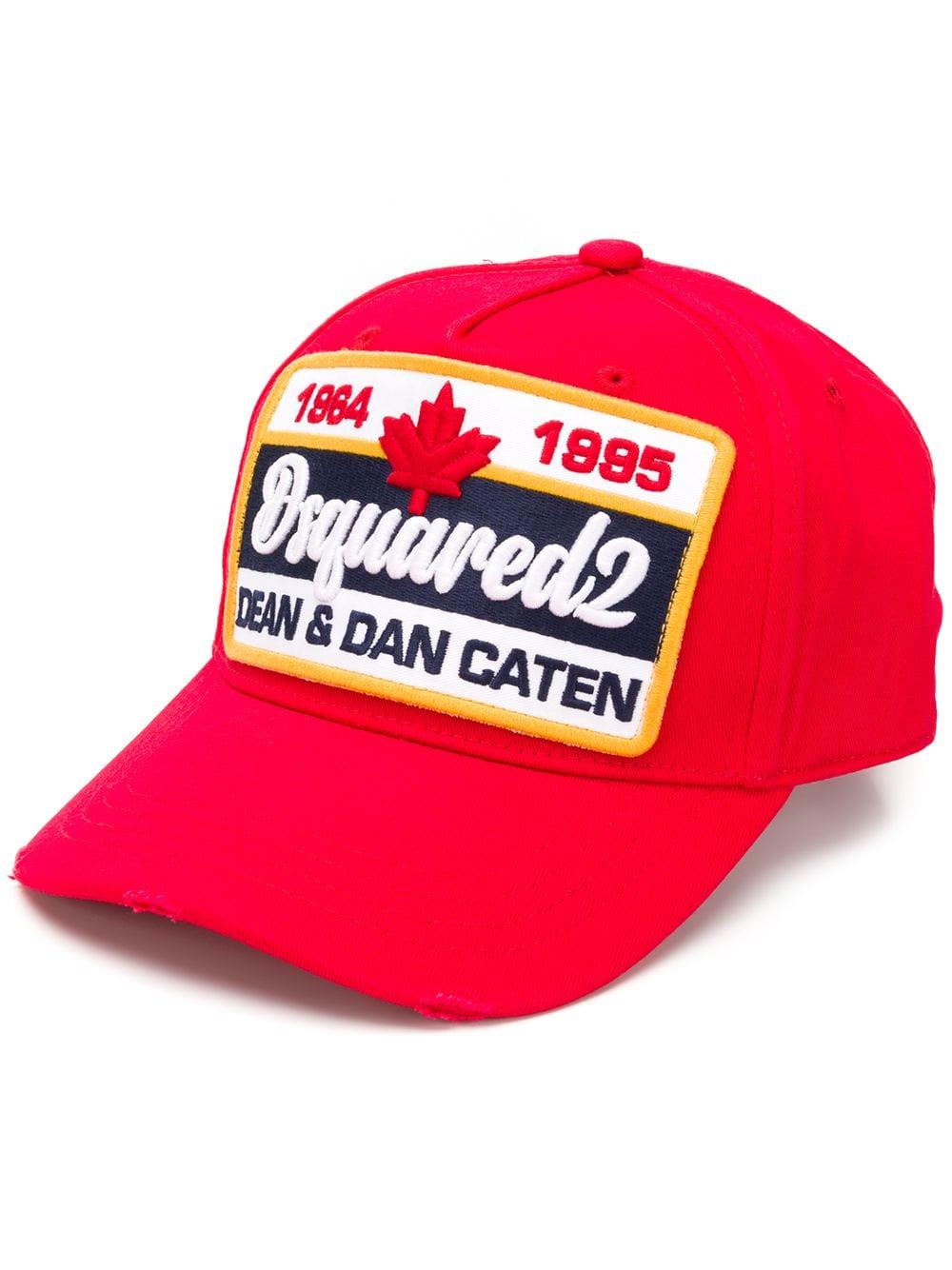 032d43e882ab3 Canadian Brothers Baseball Cap - DSQUARED2 - Russocapri