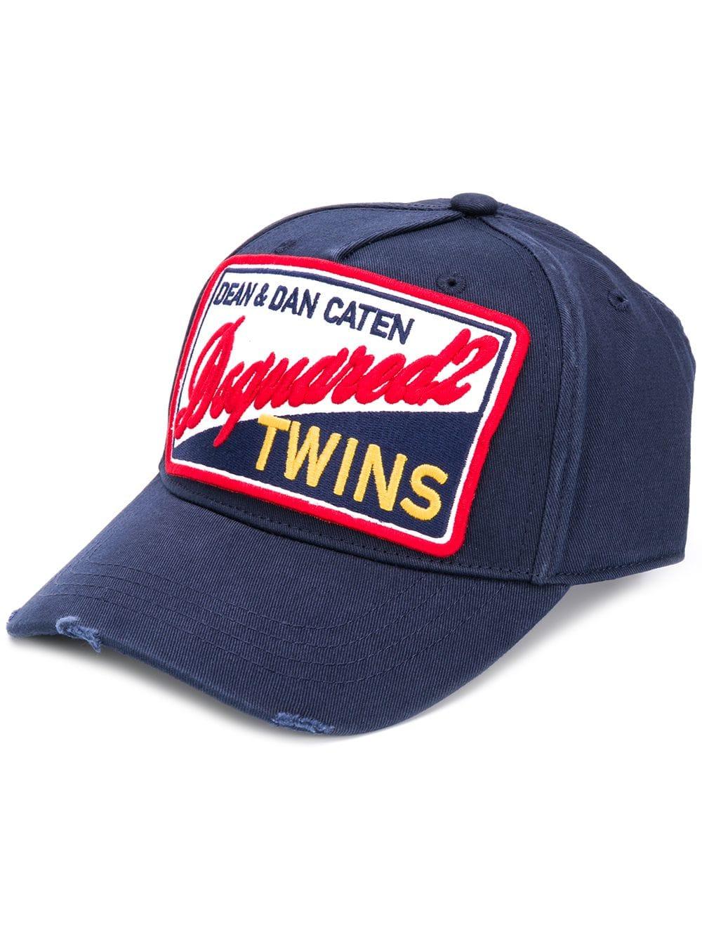 7bba8cb0d0c97 D2 Baseball Cap - DSQUARED2 - Russocapri