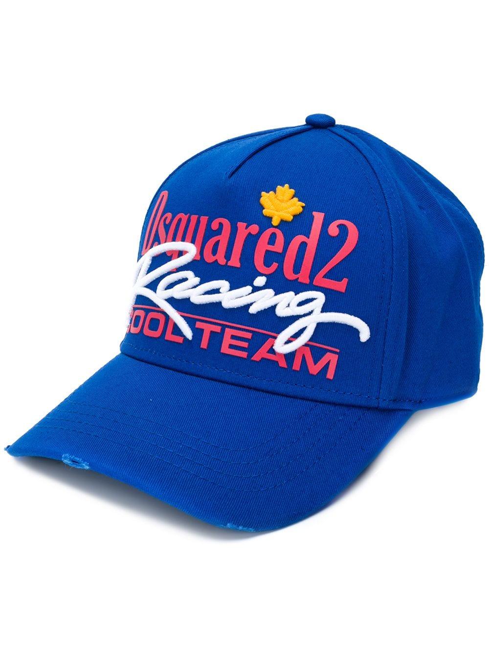 eb4bbb52e601b Racing Baseball Cap - DSQUARED2 - Russocapri