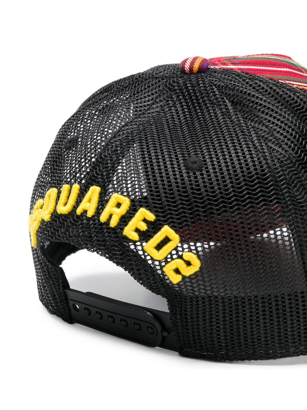 7ae3224ed61ee Icon Check Baseball Cap - DSQUARED2 - Russocapri