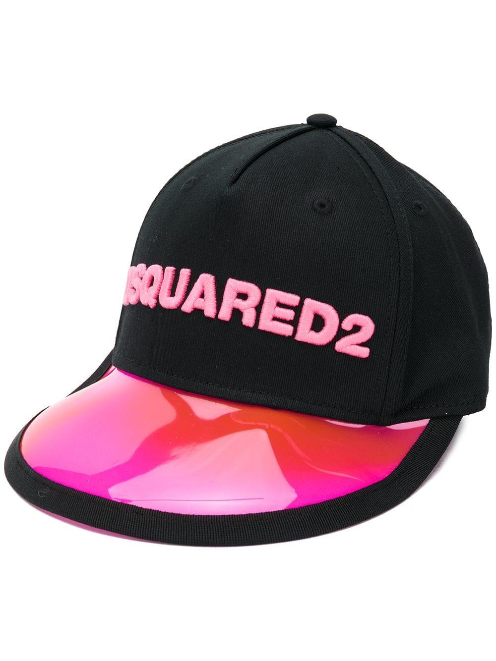 842ee36e3521b Dsquared2 Baseball Cap With PVC Peak - DSQUARED2 - Russocapri