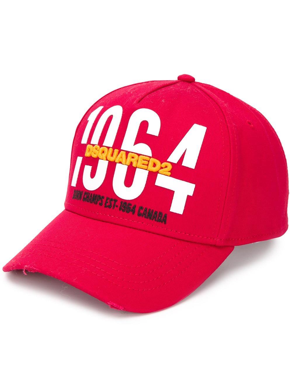 4334a8763b317 1964 Baseball Cap - DSQUARED2 - Russocapri