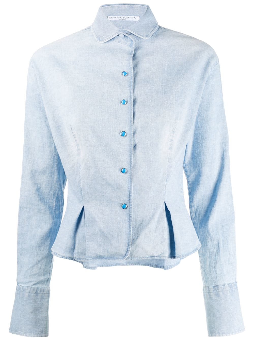 7699962dbb Camicia In Denim Celeste
