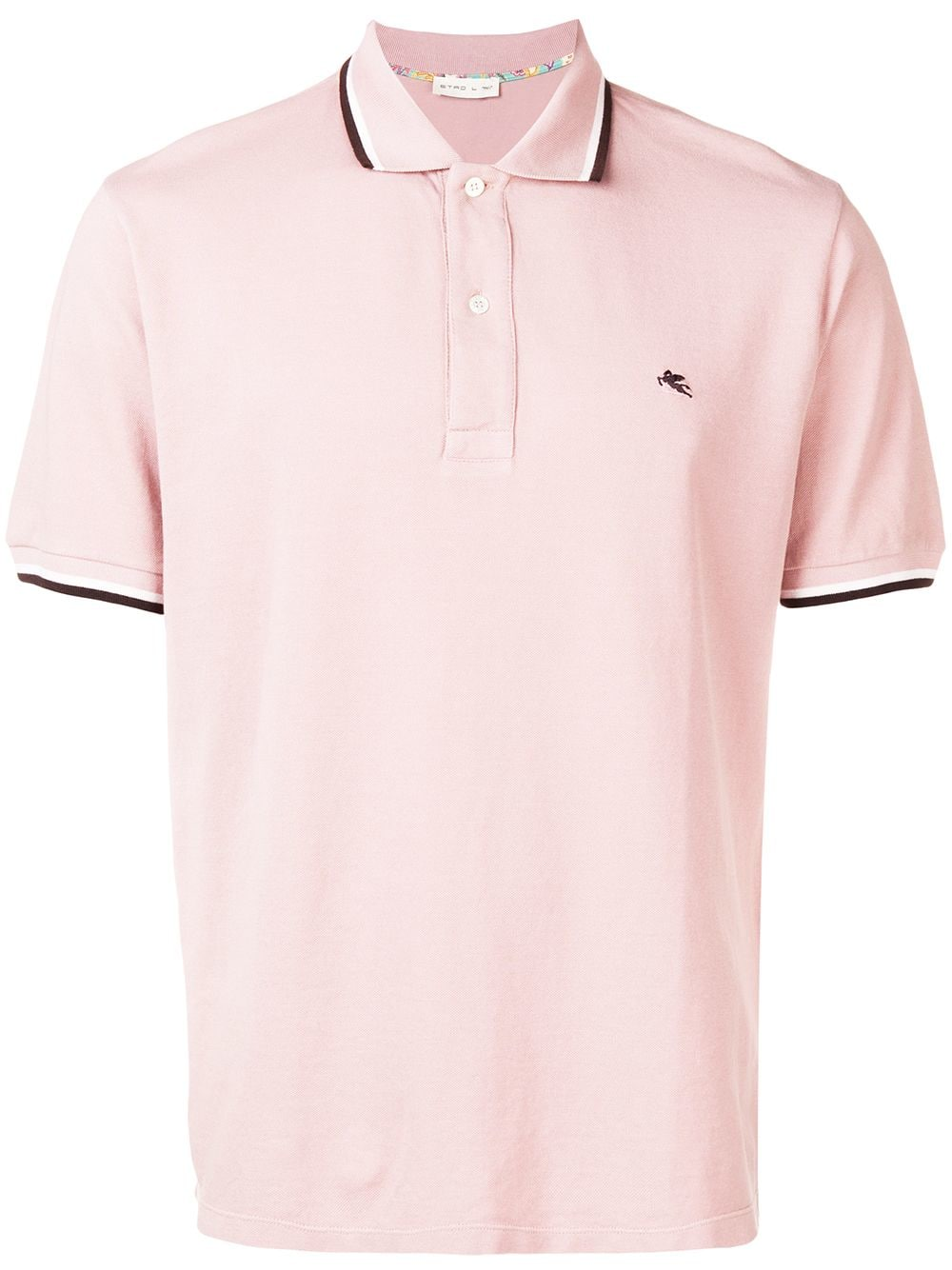 533a5c24b Polo Shirt With Striped Hem - ETRO - Russocapri