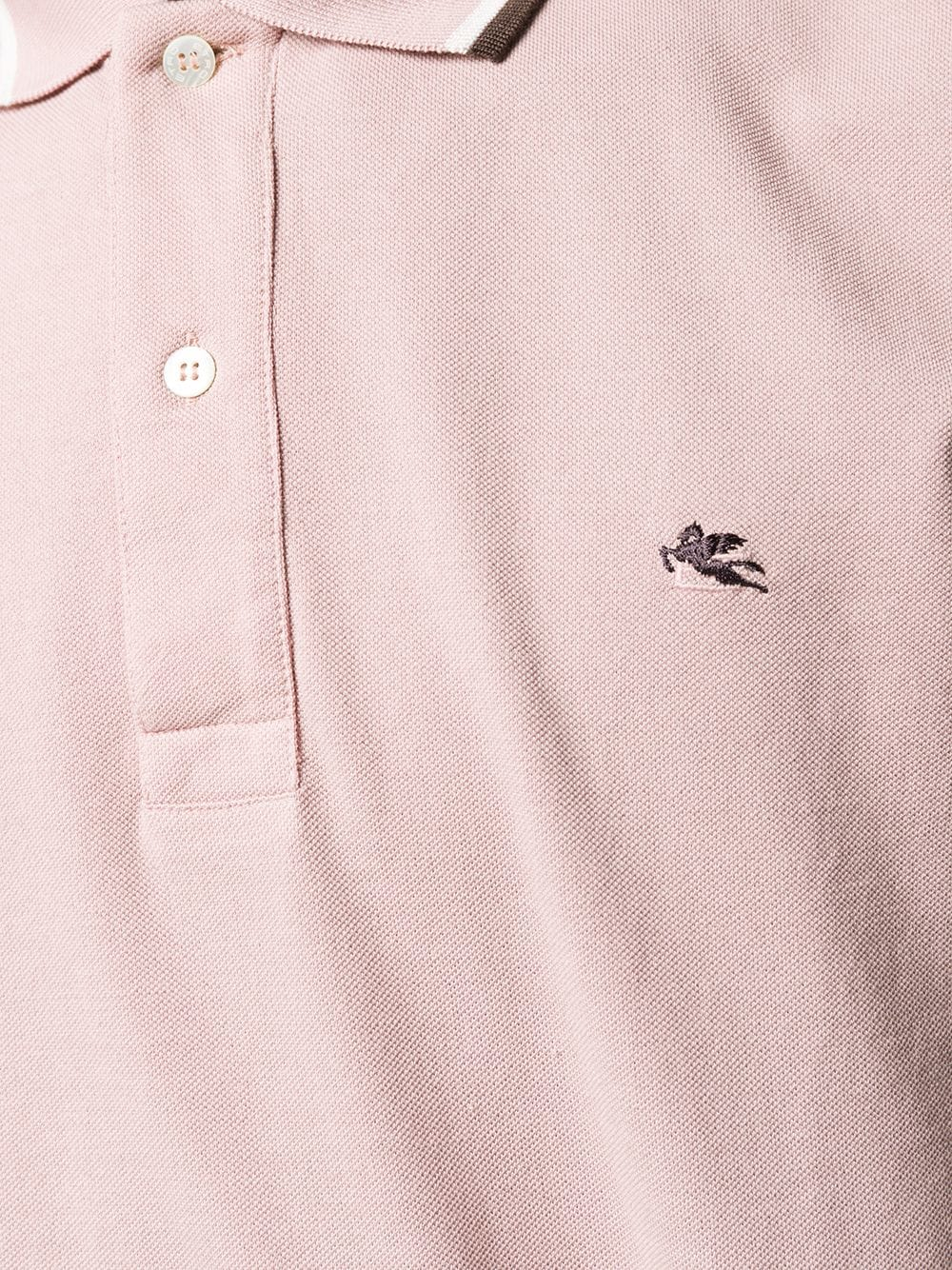 abac3d571 Polo Shirt With Striped Hem - ETRO - Russocapri
