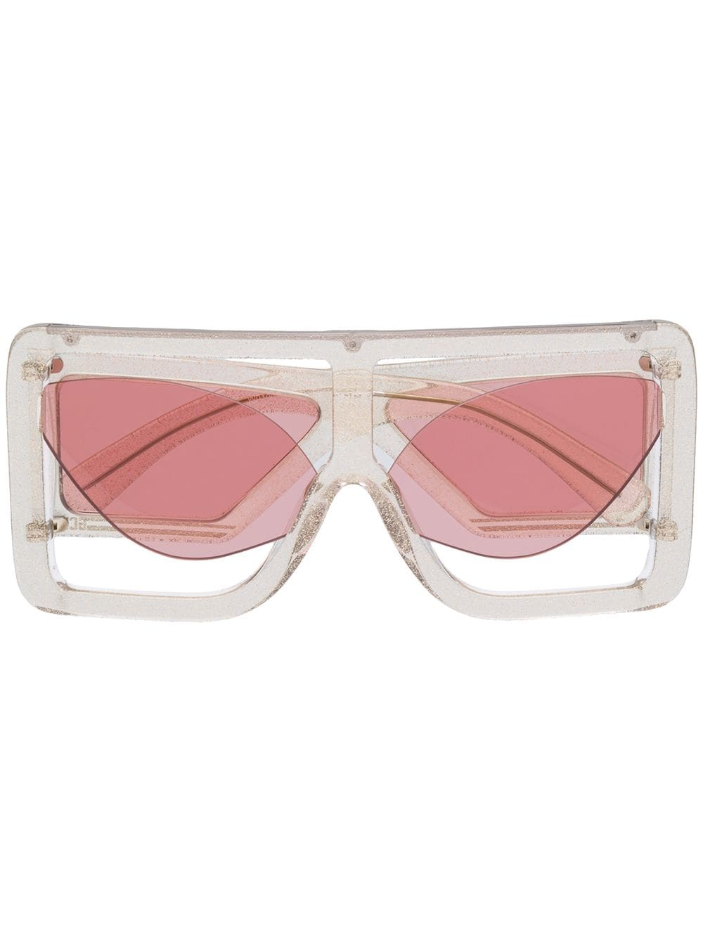 1b3fdb1a269ba Pink Cat-Eye Sunglasses - GCDS - Russocapri