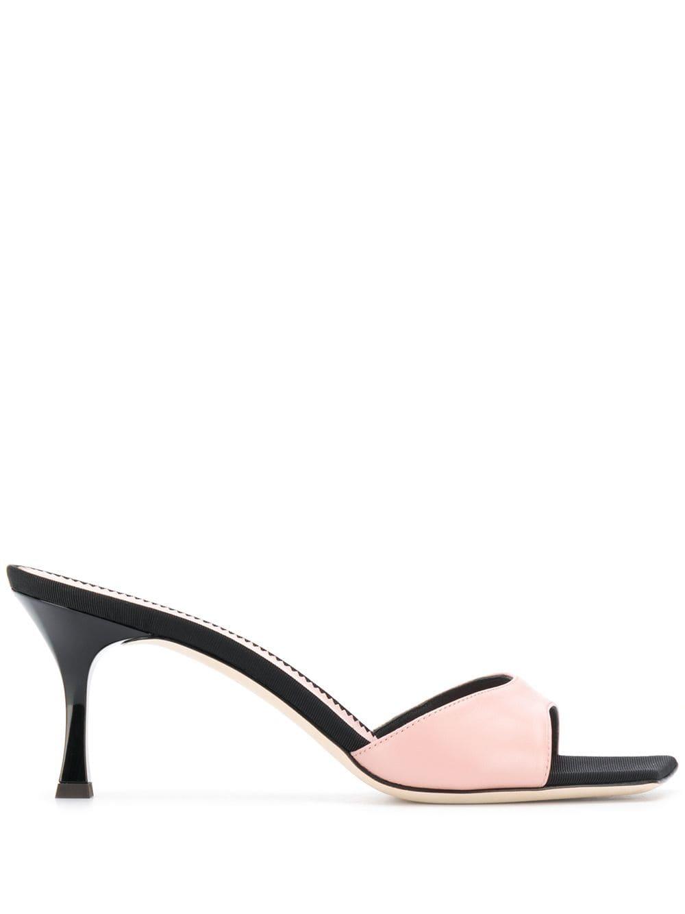 4a195ba80ec49 Black And Pink Dem Sandals - GIUSEPPE ZANOTTI - Russocapri
