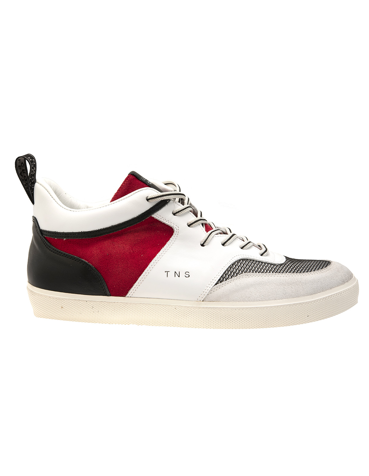 more photos 72c33 ab05e White, Red And Black TNS Sneakers