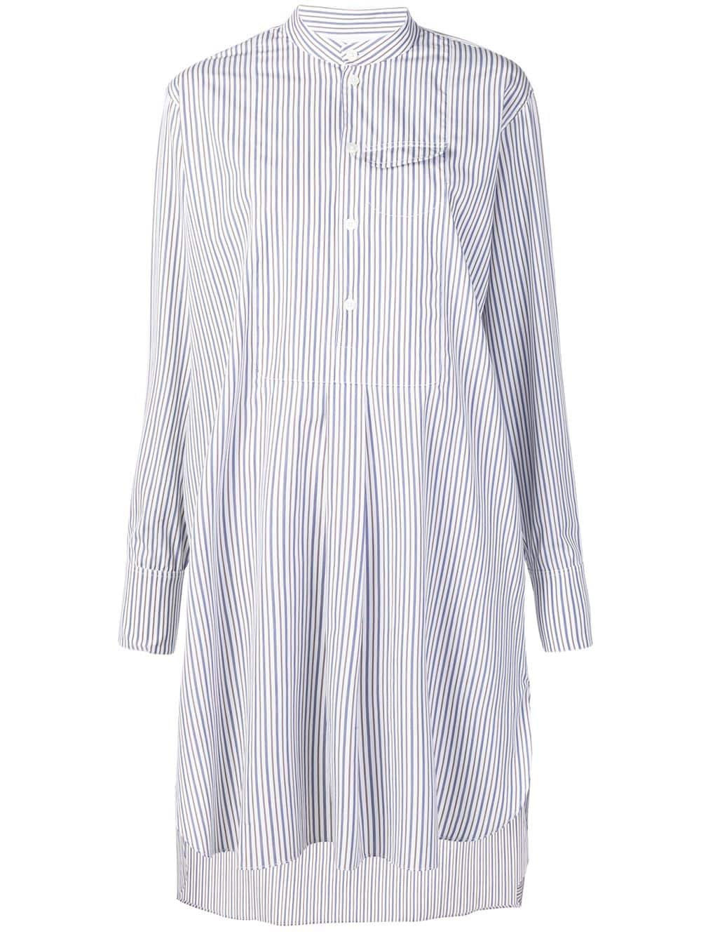 61f1ab088f4 Chemisier Dress With White And Blue Stripes - MARNI - Russocapri