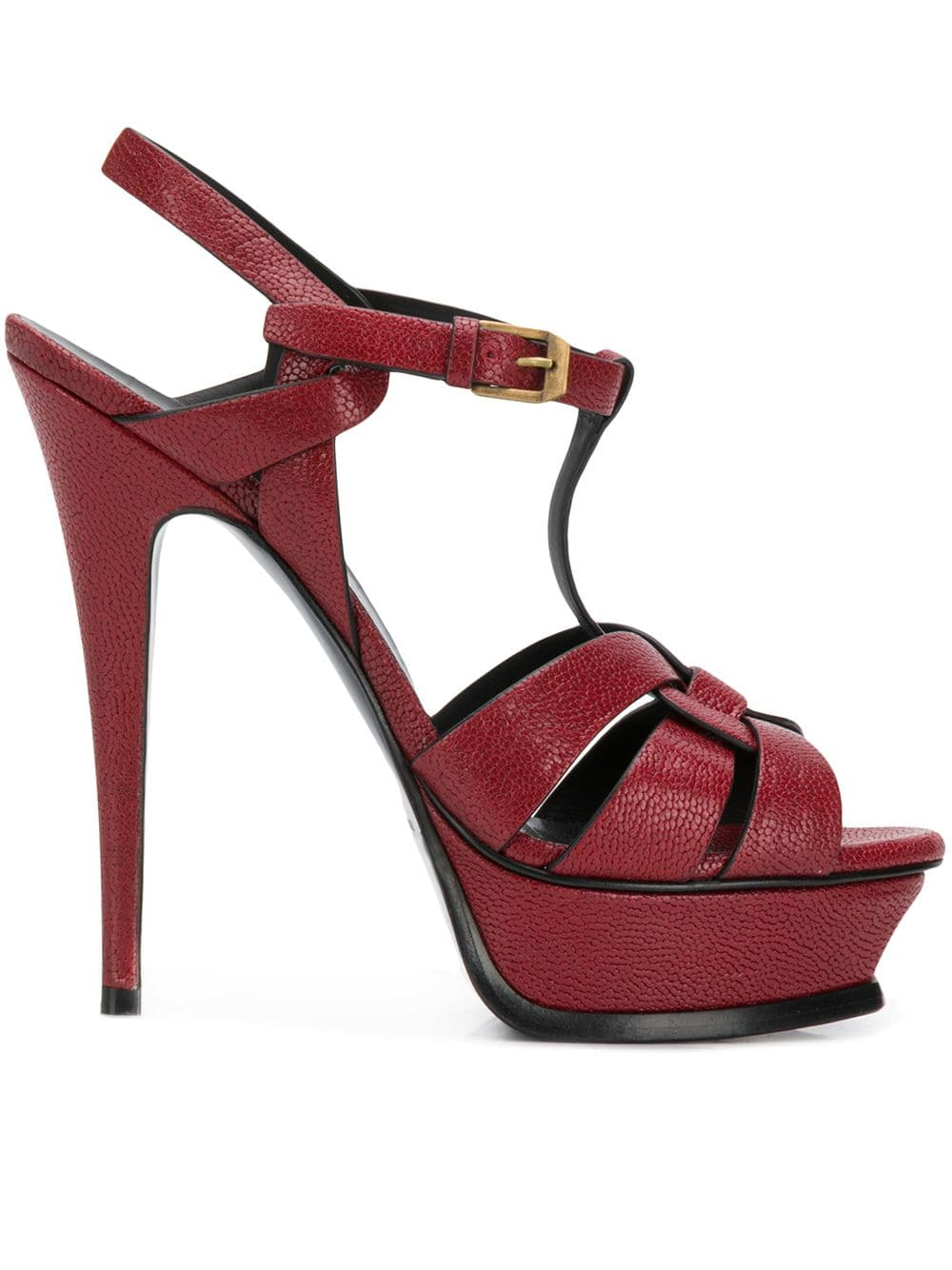 096806c09471 Red Tribute Sandal 105 - SAINT LAURENT - Russocapri