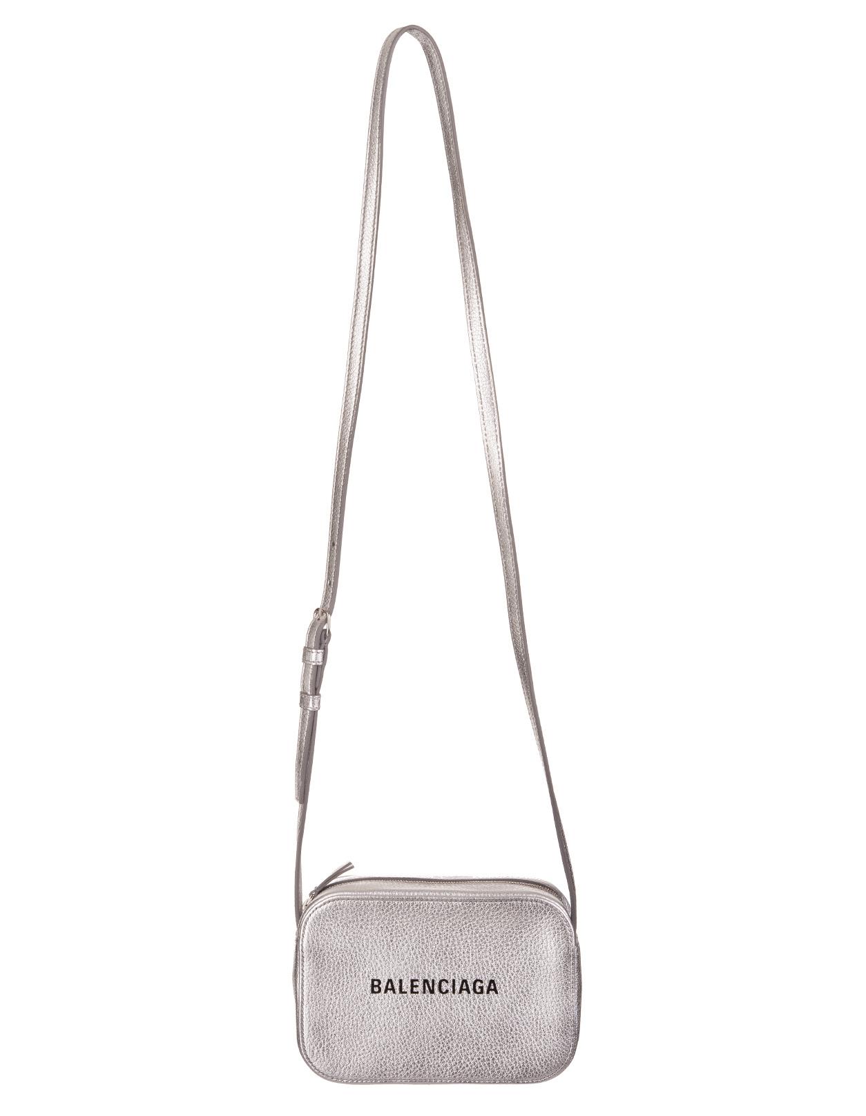 bf4e6b443 Silver Camera Bag - BALENCIAGA - Russocapri