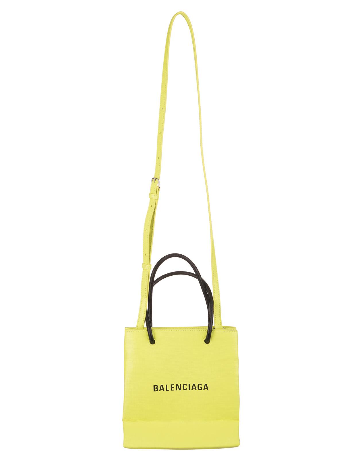 67b0a71126 Borsa Shopping Tote Gialla XXS - BALENCIAGA - Russocapri