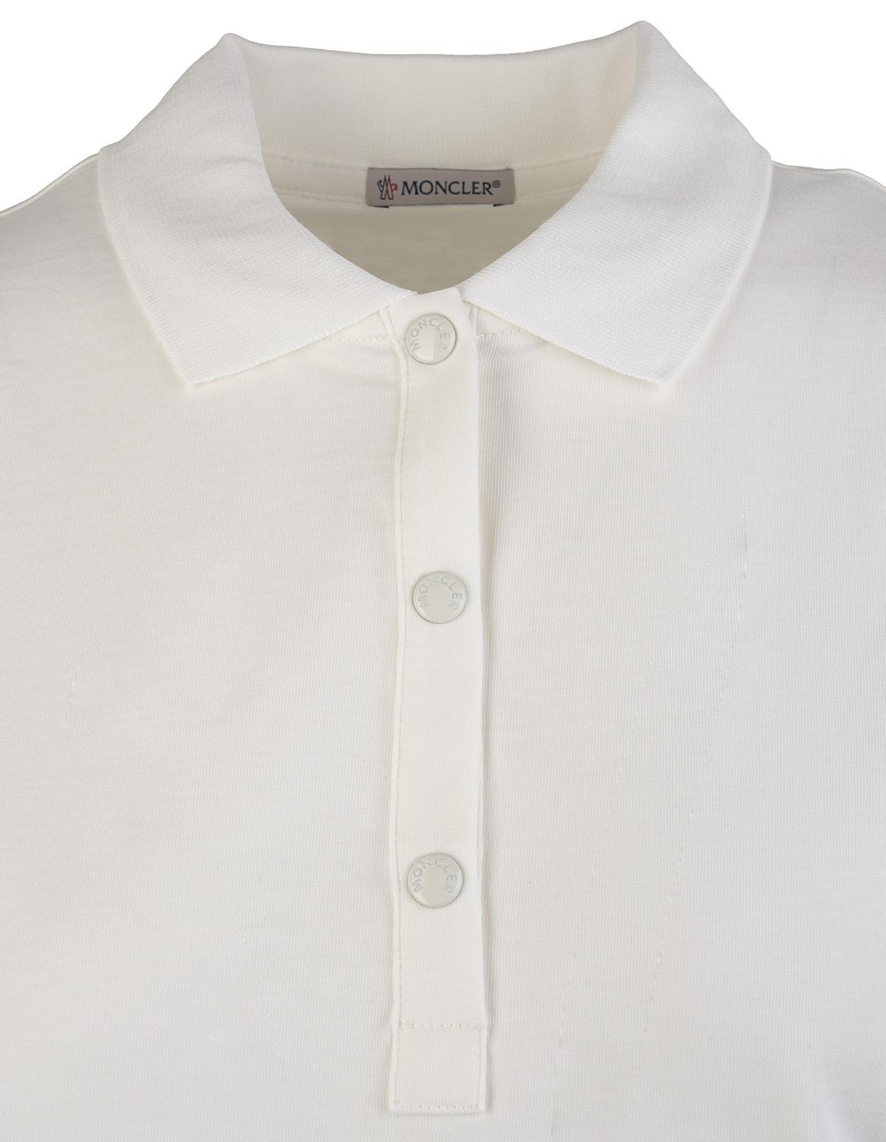 e415ec680 Embroidered Logo Cotton Polo Shirt - MONCLER - Russocapri
