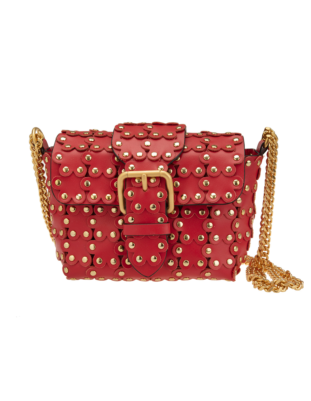 0604497531 Flower Puzzle Bag - RED VALENTINO - Russocapri