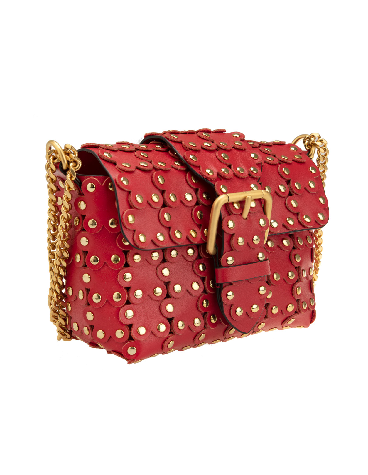 4519cfb526 Flower Puzzle Bag - RED VALENTINO - Russocapri