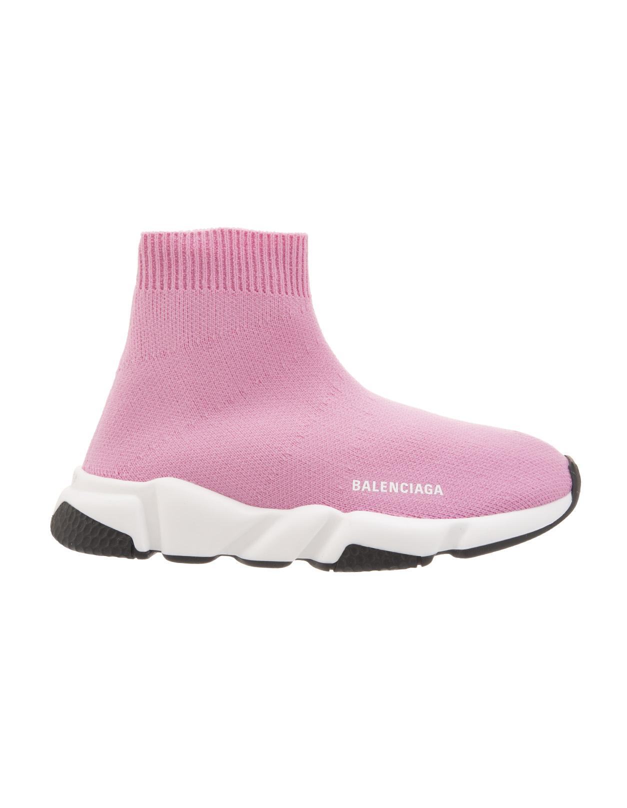 Pink Kid Speed Sneakers - BALENCIAGA