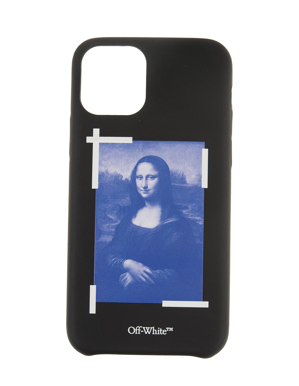 Black Monalisa iPhone 11 Pro Case