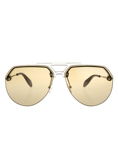 Green Aviator Style Sunglasses ALEXANDER MCQUEEN | sunglasses | 527063-J07709211