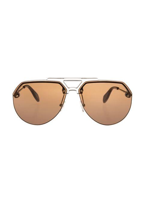 Brown Aviator Style Sunglasses ALEXANDER MCQUEEN | sunglasses | 527063-J07709212
