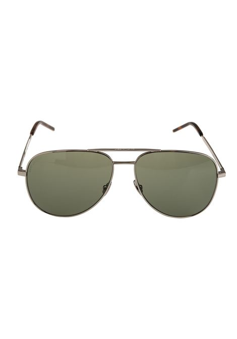 Green Aviator Sunglasses SAINT LAURENT | sunglasses | 534843-Y99028100