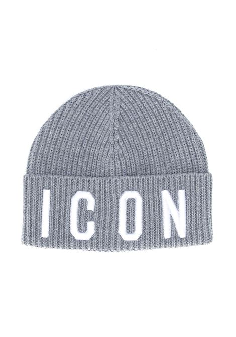 Grey And White Icon Hat Dsquared2 Kids DSQUARED2   Baseball Cap   DQ03PS-D00WCDQ907