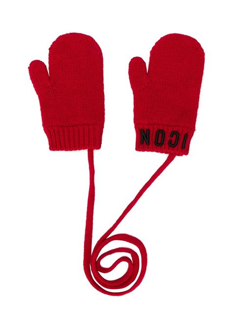 Red Icon Gloves Dsquared2 Kids DSQUARED2 |  | DQ03U6-D00WCDQ415