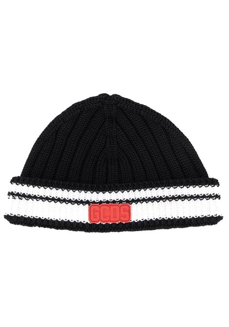 f9bba6988 Black And White Hat With Red Logo Patch - GCDS - Russocapri