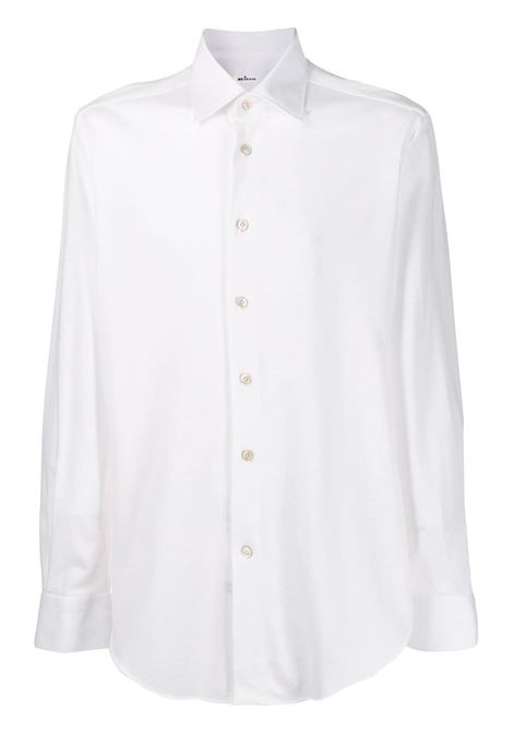 White Shirt With Classic Collar KITON | shirts | UCCH0715201