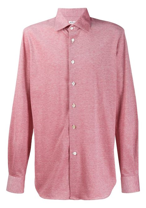 Red Shirt With Classic Collar KITON | shirts | UCCH0715206