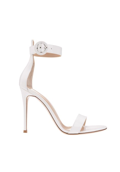 White PORTOFINO 105 Sandal GIANVITO ROSSI | sandals | G61096-15RICVERBIAN