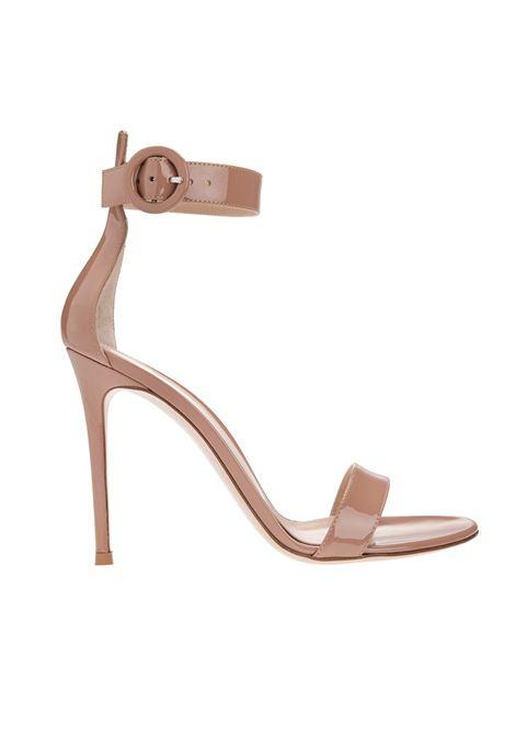 Praline Pink PORTOFINO 105 Sandal GIANVITO ROSSI | sandals | G61096-15RICVERPRAL