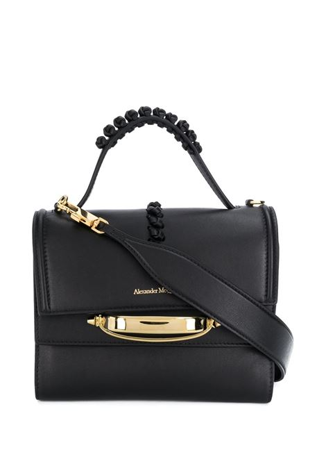 Black The Story Bag ALEXANDER MCQUEEN | shoulder bags | 619746-1X3AT1000