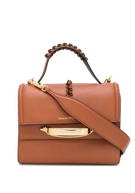 Light Brown The Story Bag ALEXANDER MCQUEEN | shoulder bags | 619746-1X3AT2590