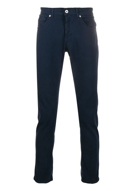 Night Blue George Skinny Man Pant DONDUP | trousers | UP232-RSE032 PT0853