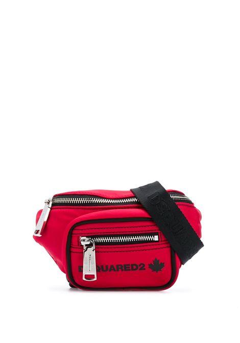 Marsupio Mini Donna Dsquared2 Rosso DSQUARED2   Marsupi   BBW0022-117032584065