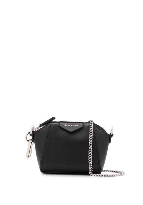 Black Baby Antigona Bag With Chain GIVENCHY | mini bags | BB60D7B0XN001