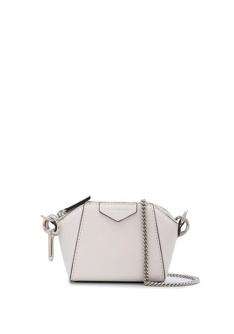 White Baby Antigona Bag With Chain GIVENCHY | mini bags | BB60D7B0XN100