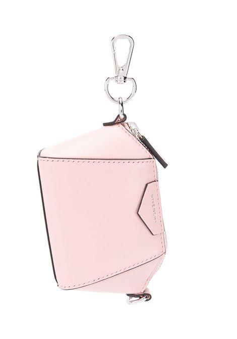 Candy Pink Baby Antigona Bag With Chain GIVENCHY | mini bags | BB60D7B0XN662