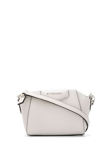 Nano Antigona Bag In White Grain Leather GIVENCHY | mini bags | BBU017B00B140