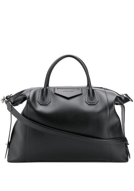 Antigona Soft XL Bag In Soft Black Leather GIVENCHY | hand bags | BK507NK0ZZ001
