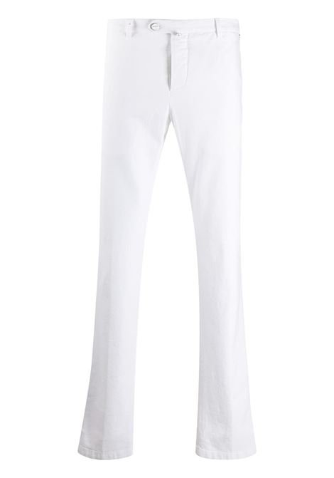 White Man Straight Chino Pant KITON | trousers | UFPP79J02T8920