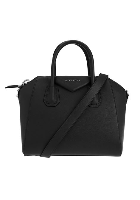 Small Antigona Bag In Black Grain Leather GIVENCHY | hand bags | BB05117012001