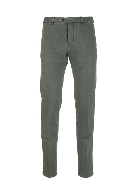 Man Green Chino Pant KITON | trousers | UFPP79J02T8904