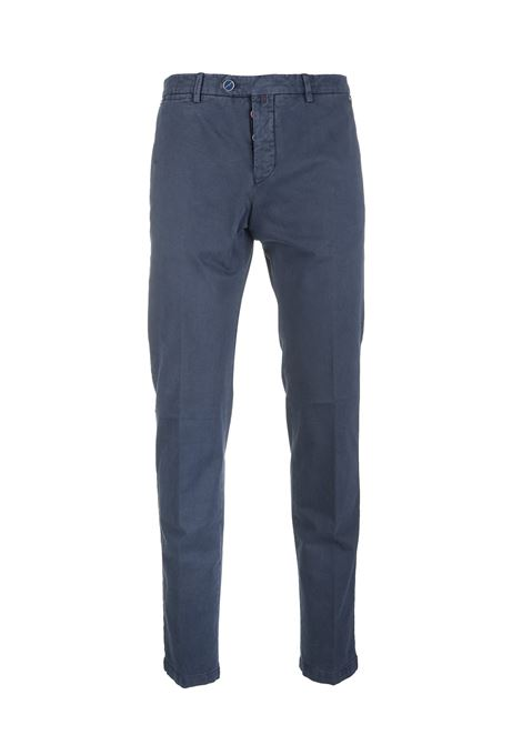 Man Blue Chino Pant KITON | trousers | UFPP79J02T8915