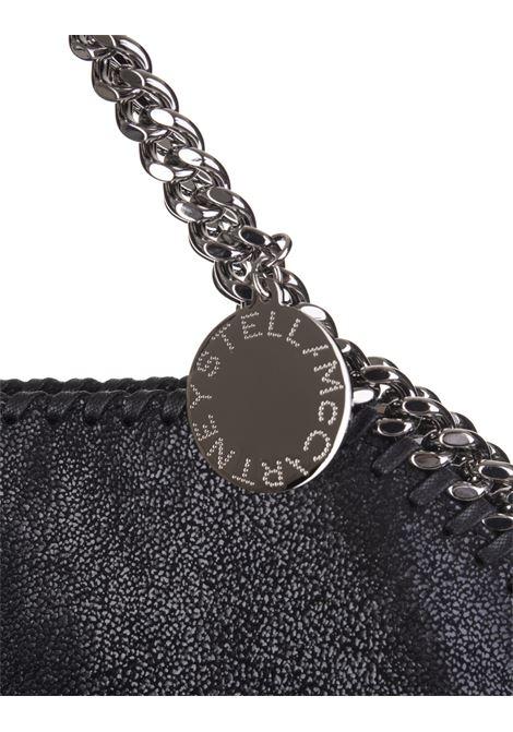 Black And Silver Falabella Fold Over Tote Bag STELLA MC CARTNEY   Bags   234387-W91321000