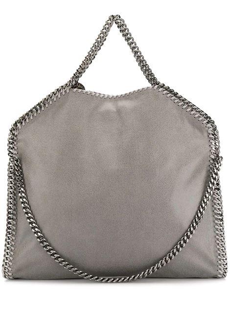 Light Grey And Silver Falabella Fold Over Tote Bag STELLA MC CARTNEY   Bags   234387-W91321220