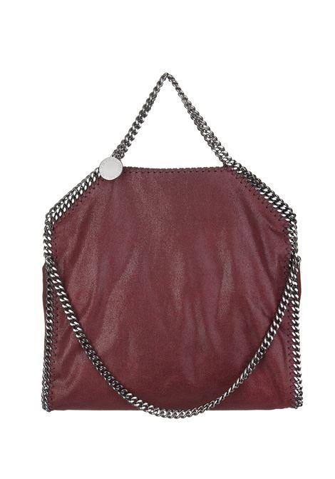 Wine Red And Silver Falabella Fold Over Tote Bag STELLA MC CARTNEY   Bags   234387-W91326261
